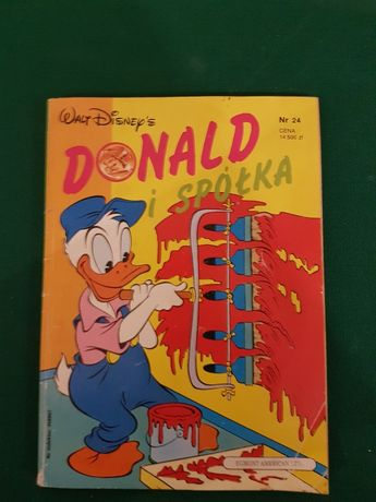 Komiks Kaczor Donald: Donald i spółka nr 24