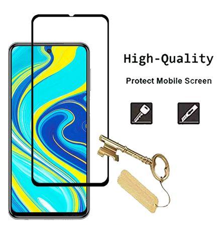 Película Vidro Ecrã e camera Xiaomi Redmi Note 9S Pocophone Poco X3 F2