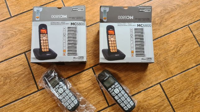 Telefon stacjonarny bezprzewodowy Maxcom MC6800