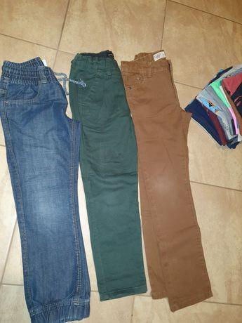 Paka ubrań, zestaw spodnie, bluzy itp