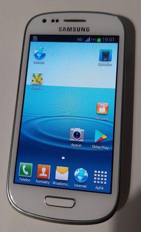 Telefon komórkowy Samsung S3 mini GT-I8190 bez sim locka biały
