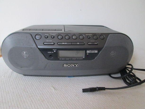 Radioodtwarzacz CD kasety Sony CFD-S07CP