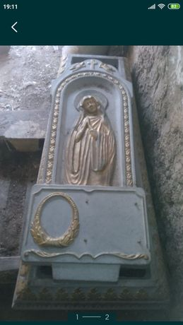 Пам'ятник надмогильний Діва Марія. Символічна ціна 1 600 грн.