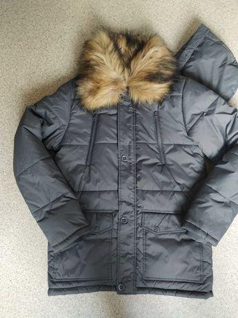 Теплая мужская куртка. Как новая. Турция.
