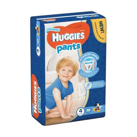 Трусики-подгузники Huggies Pants для мальчиков, размер 4, 9-14 кг, 36