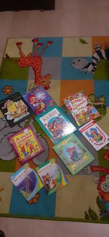 Книги детскии сказки.