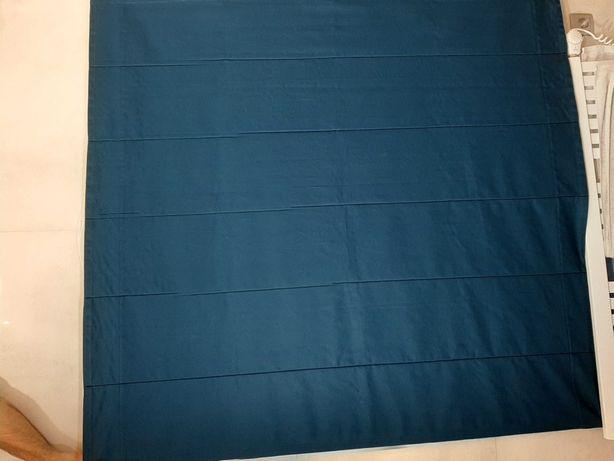 Roleta rzymska kolor morski blue