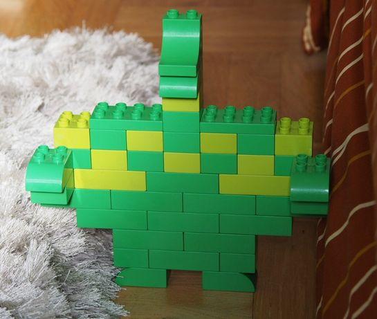 Lego duplo zielone 41 elementów