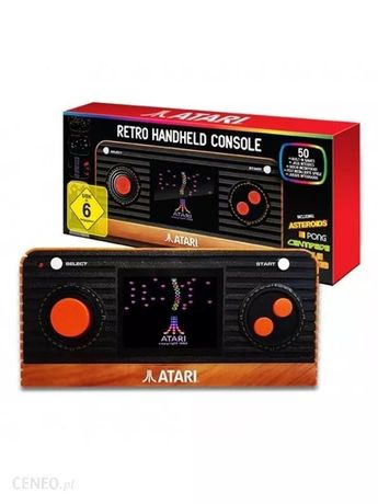 Atari retro handheld konsola przenośna, 50 gier atari