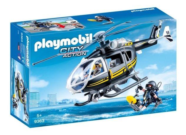 Playmobil 9363 Heli Forças Especiais - NOVO
