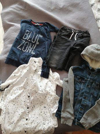 Komplet ubran dla chłopca KAPPHAL i H&M