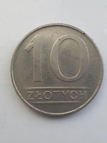 10 zl z 1986 roku