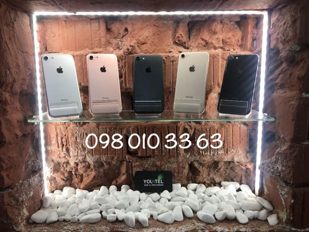 Айфон iPhone 7 8 Space Gray Black Silver Rose Gold 32 64 128 256 GB ГБ