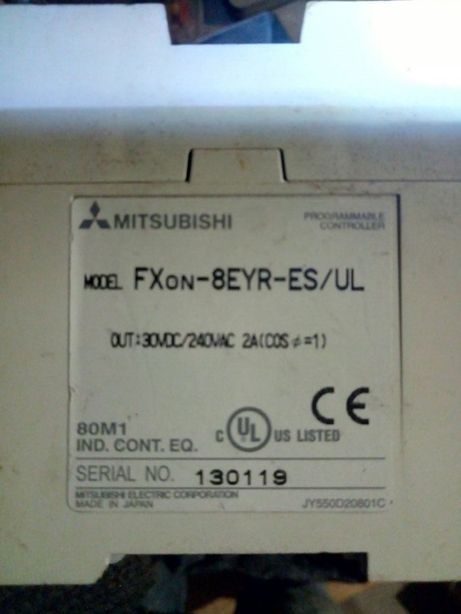 Mitsubishi FX0N-8eyr-ES/UL Аналоговый модуль.