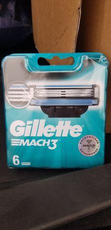 Gillette Mach3 6sztuk 100% oryginał !