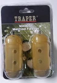 Koszyk method feeder TRAPER MAGGOT op-2szt. ,30g