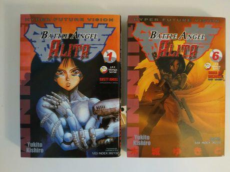 Manga Battle Angel Alita tomy 01