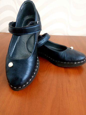 Туфлі для дівчинки, ШКІРА