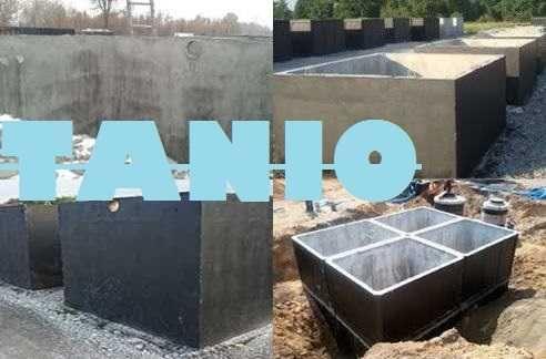 Zbiornik 6000l na gnojówkę gnojowicę betonowy szamba betonowe
