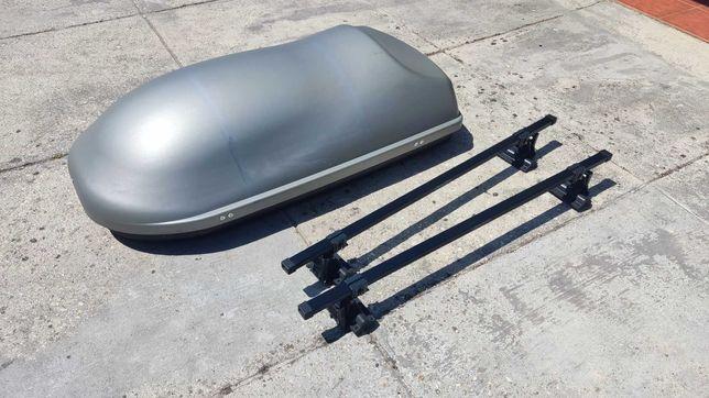 Caixa Mala Bagageira tejadilho TITAN G3 320L