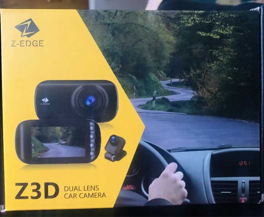 Podwójna kamera samochodowa, ekran Z-Edge Z3D 2,7 cala Pruszków - image 1