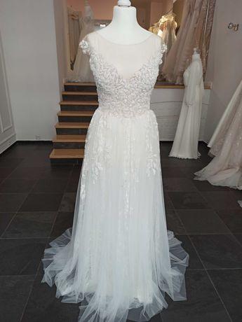 Nowa suknia ślubna Tesoro Nimphelos 36-40