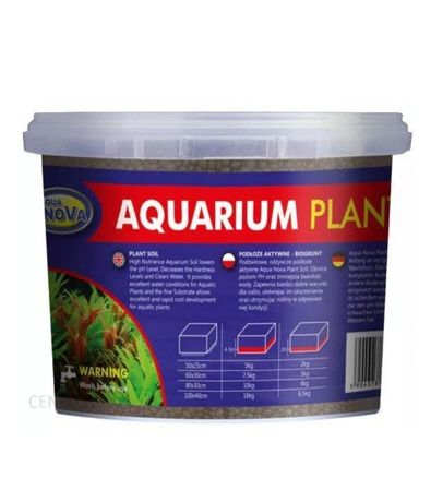 Aqua Nova plant soil 4kg.
