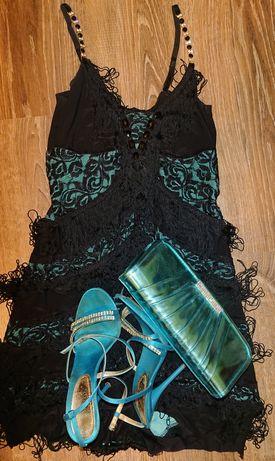 Платье туфли и сумку в подарок(вечернее ,новый год ,выпускной ,новый)