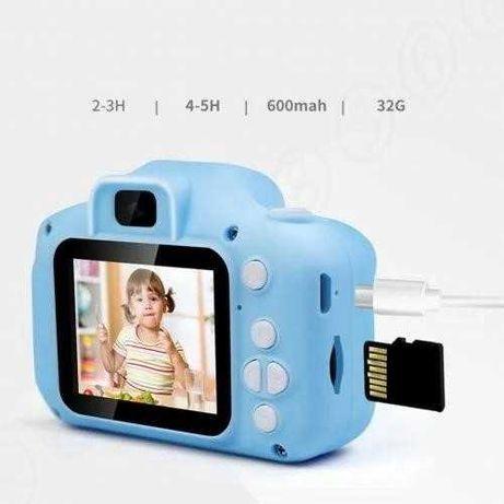 Цифровая фотокамера для детей FULLHD лучший подарок цифровая камера