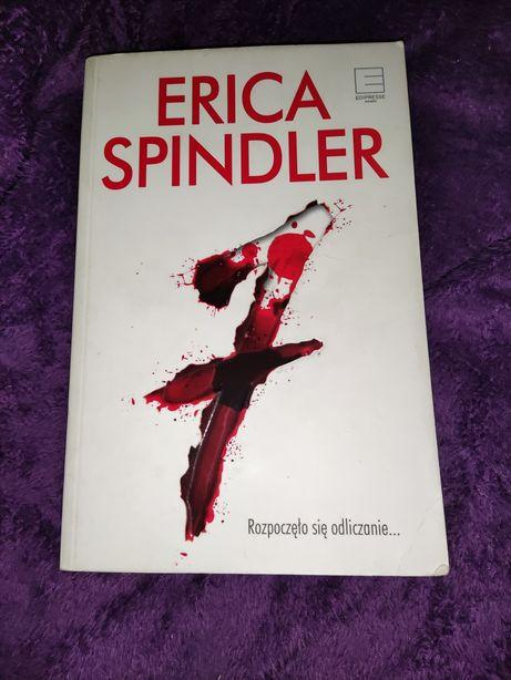 Książka 7 siódemka Erica Spindler