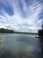 Całoroczny domek nad jeziorem Glinna Puszcza Bukowa
