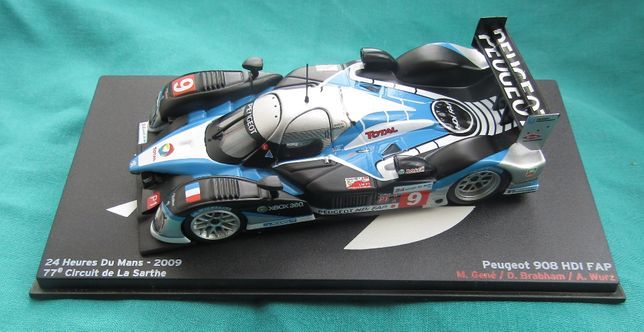 Miniatura de Le Mans Peugeot HDI FAP