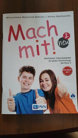 Mach mit! 2 neu. Materiały ćwiczeniowe do języka niemieckiego dla