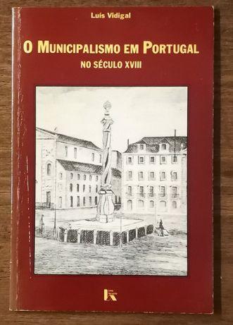 o municipalismo em portugal, luís vidigal, livros horizonte