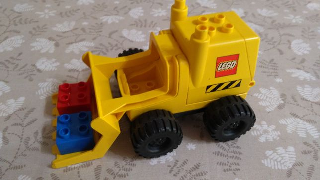 Lego Duplo Koparka z Dużymi Kołami 2807 – UNIKAT