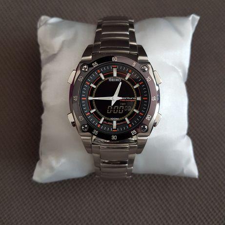 zegarek SEIKO Sportura SNJ019P1 Honda F1 Team cyfrowy chronograf