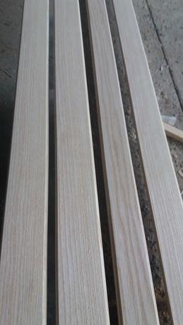 Наличник дверной деревянный ясень новый