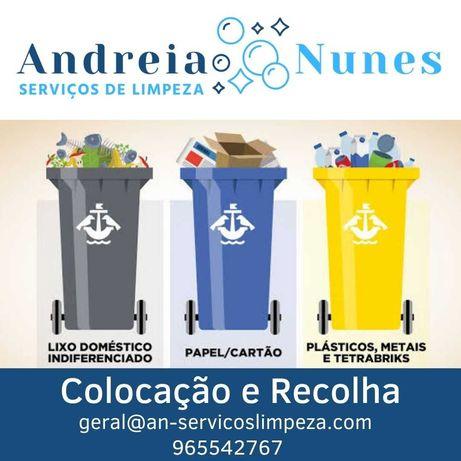 Limpeza Condomínios (c/ colocação e recolha de contentores lixo)