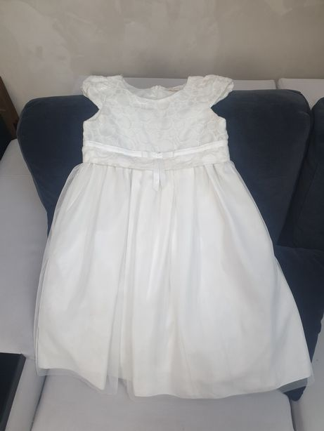 Biała sukienka Wójcik 128