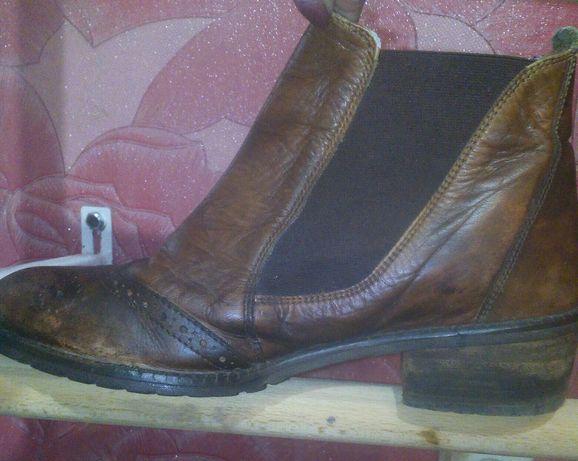 Ботинки,туфли кожа