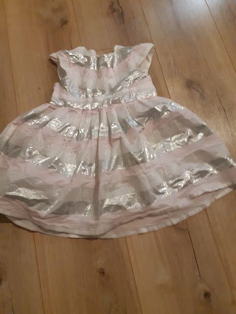 Sukienki rozmiar 86 (12-18 msc.)