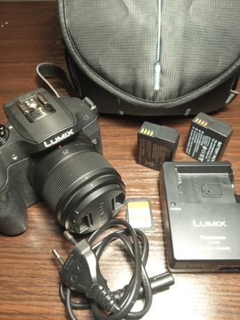 Aparat Panasonic Lumix G6. Obiektyw 25mm f 1.7 + Torba i dwa akumlator
