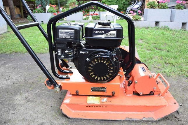 Zagęszczarka spalinowa Pezal PC100 silnik Kipor KG200