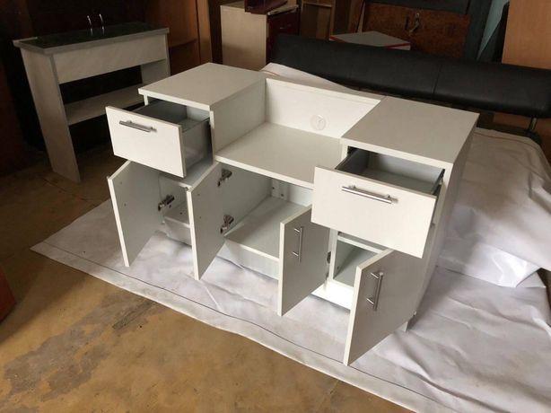 РАСПРОДАЖА столы письменные компьютерные лофт тумбы ящики полки ролики