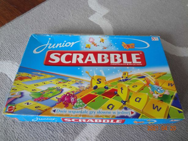 Scrabble Junior gra