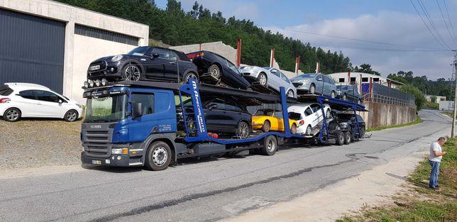 Scania porta carros p 420