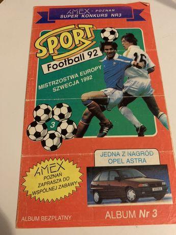 Album EURO 1992' Szwecja