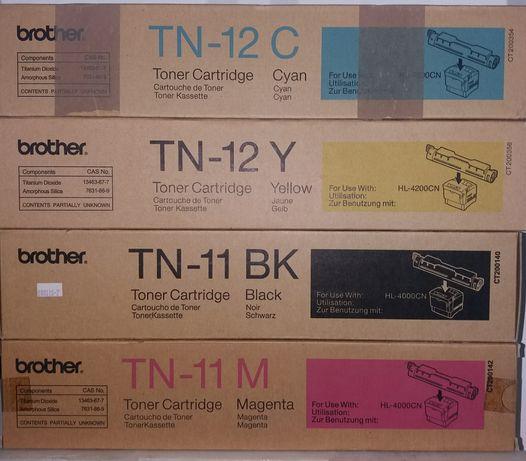 Toners Brother TN 11/12 4 cores Originais
