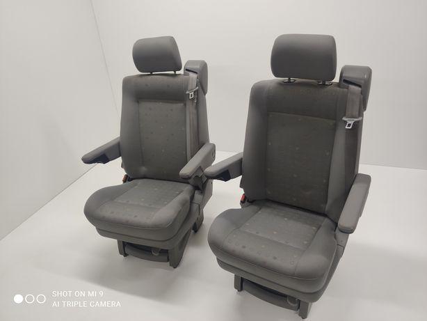 Fotele VW T4 Multivan Obkręcane Kapitanskie Środkowe