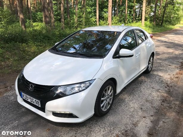 Honda Civic 1.8 Benzyna Biała perła kamera pdc 90tys km serwis...